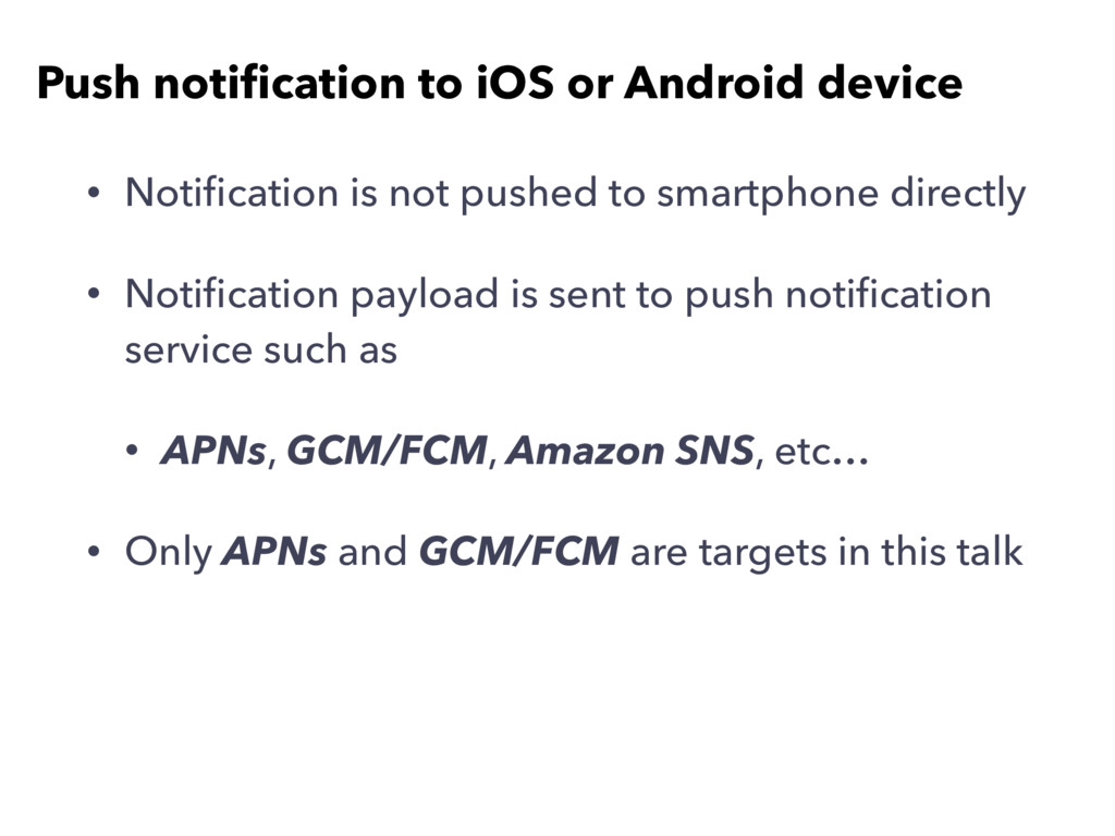 • Notification is not pushed to smartphone direc...