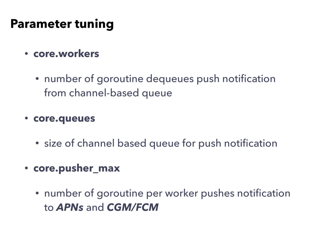 • core.workers • number of goroutine dequeues p...