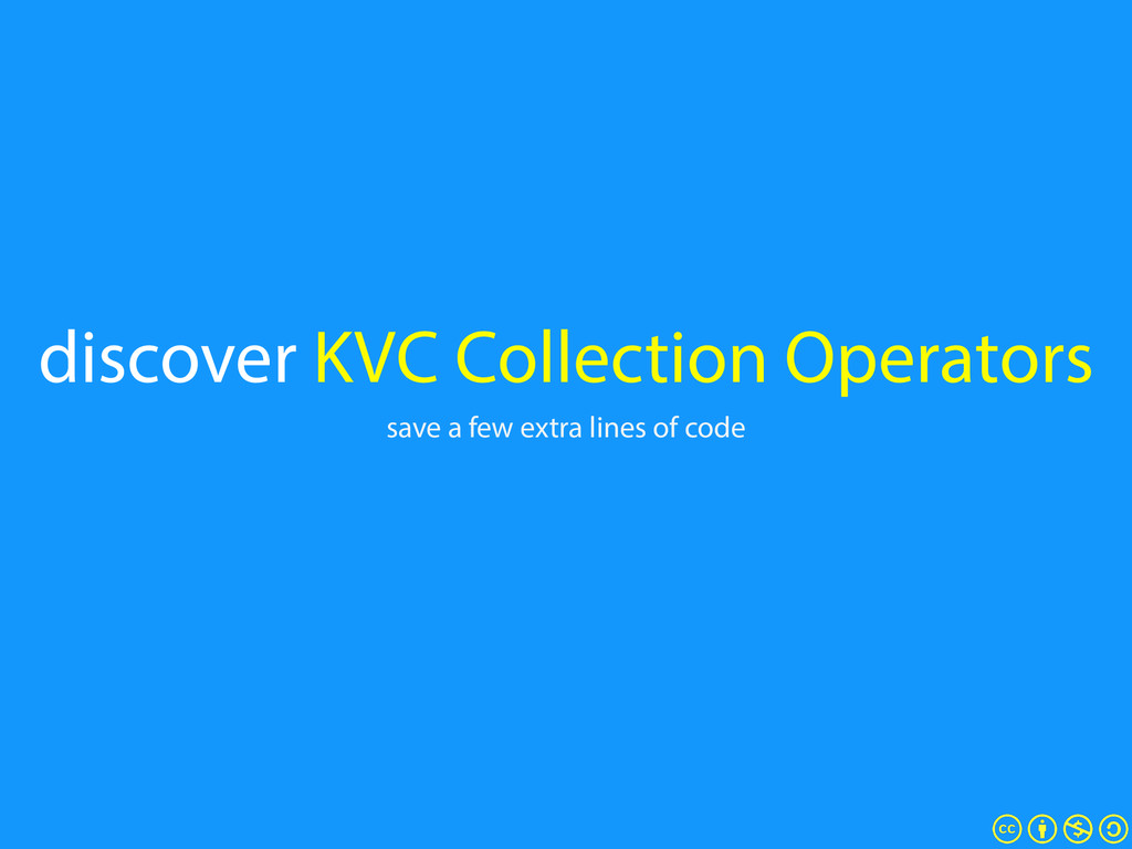 discover KVC Collection Operators save a few ex...
