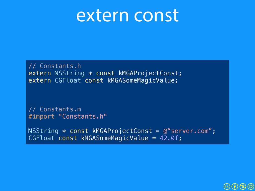 "// Constants.h #define kMGAProjectConst @""myStr..."