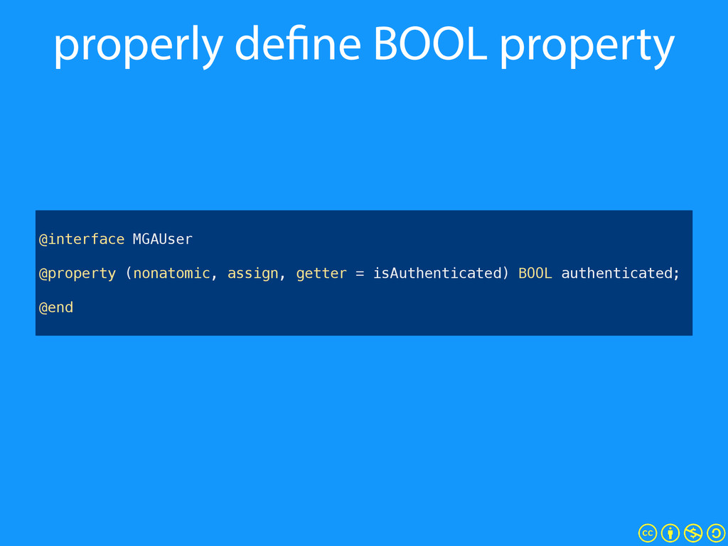 properly define BOOL property ! @interface MGAU...