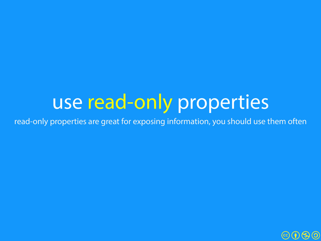 use read-only properties read-only properties a...