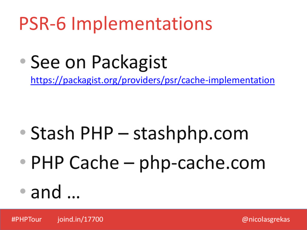 #PHPTour joind.in/17700 @nicolasgrekas • See on...