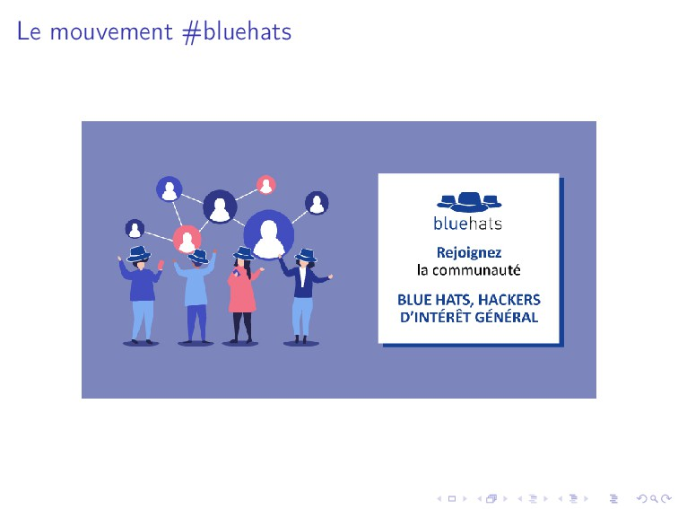 Le mouvement #bluehats