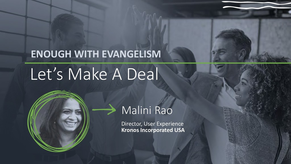 ENOUGH WITH EVANGELISM Let's Make A Deal Malini...