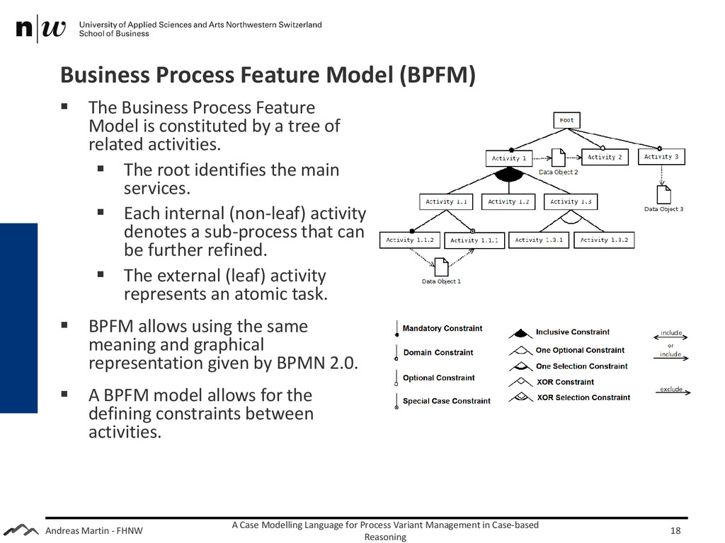 Andreas Martin - FHNW Business Process Feature ...