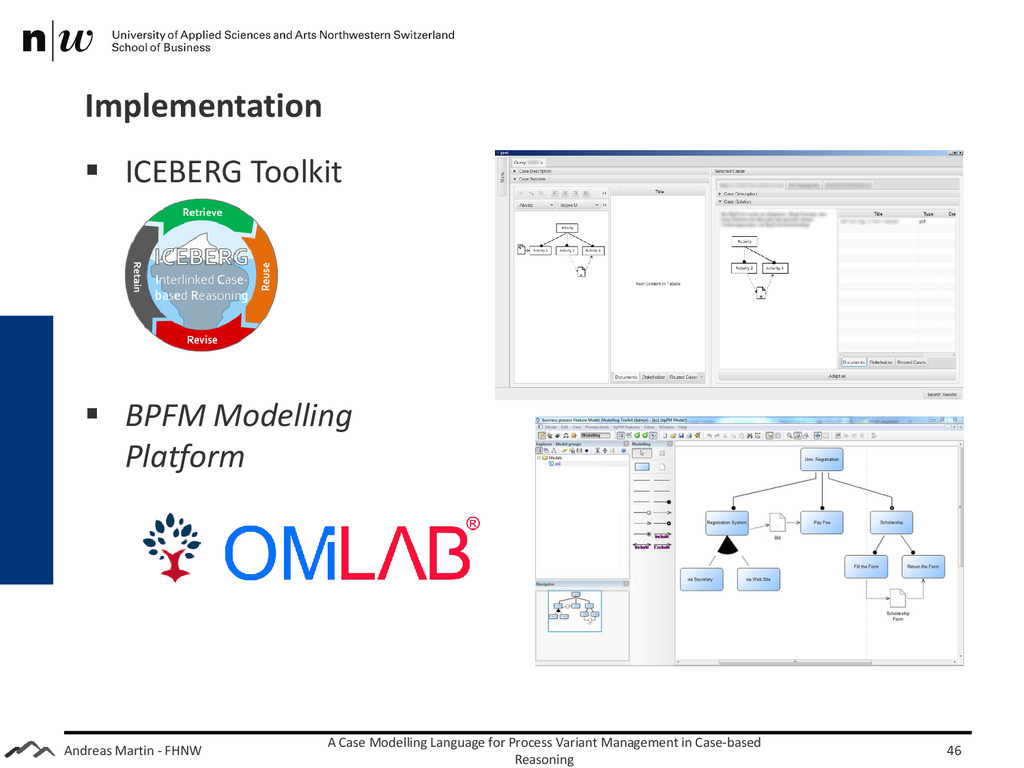Andreas Martin - FHNW Implementation A Case Mod...