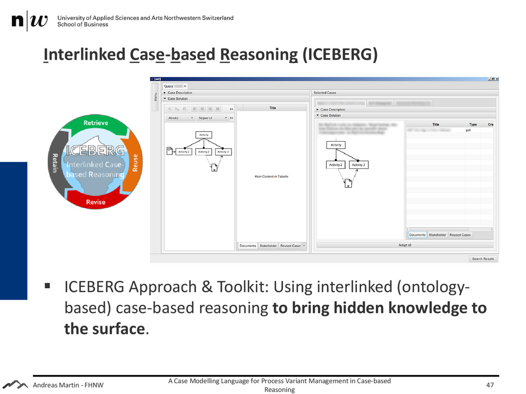 Andreas Martin - FHNW Interlinked Case-based Re...