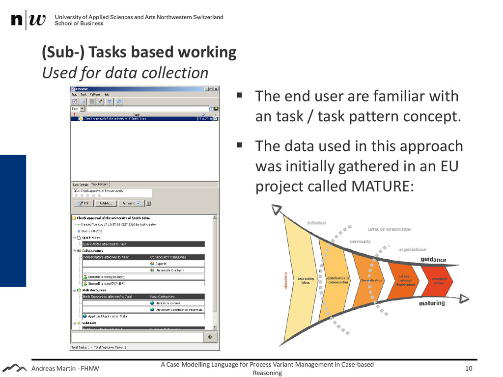 Andreas Martin - FHNW (Sub-) Tasks based workin...