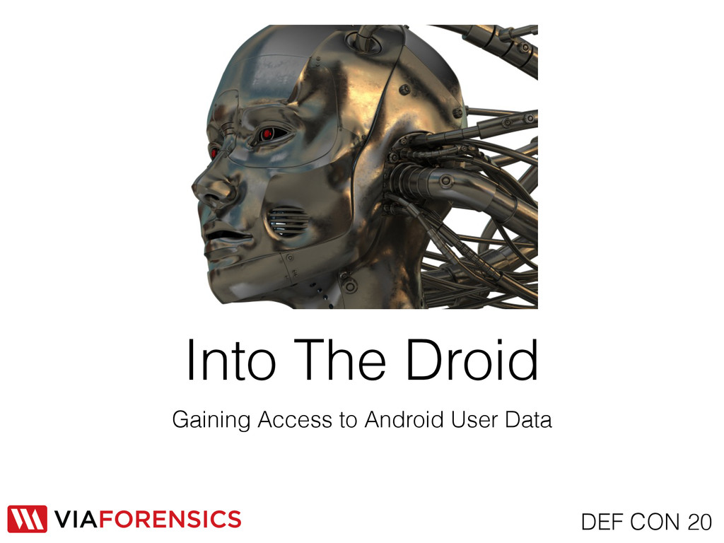 Gaining Access to Android User Data Into The Dr...