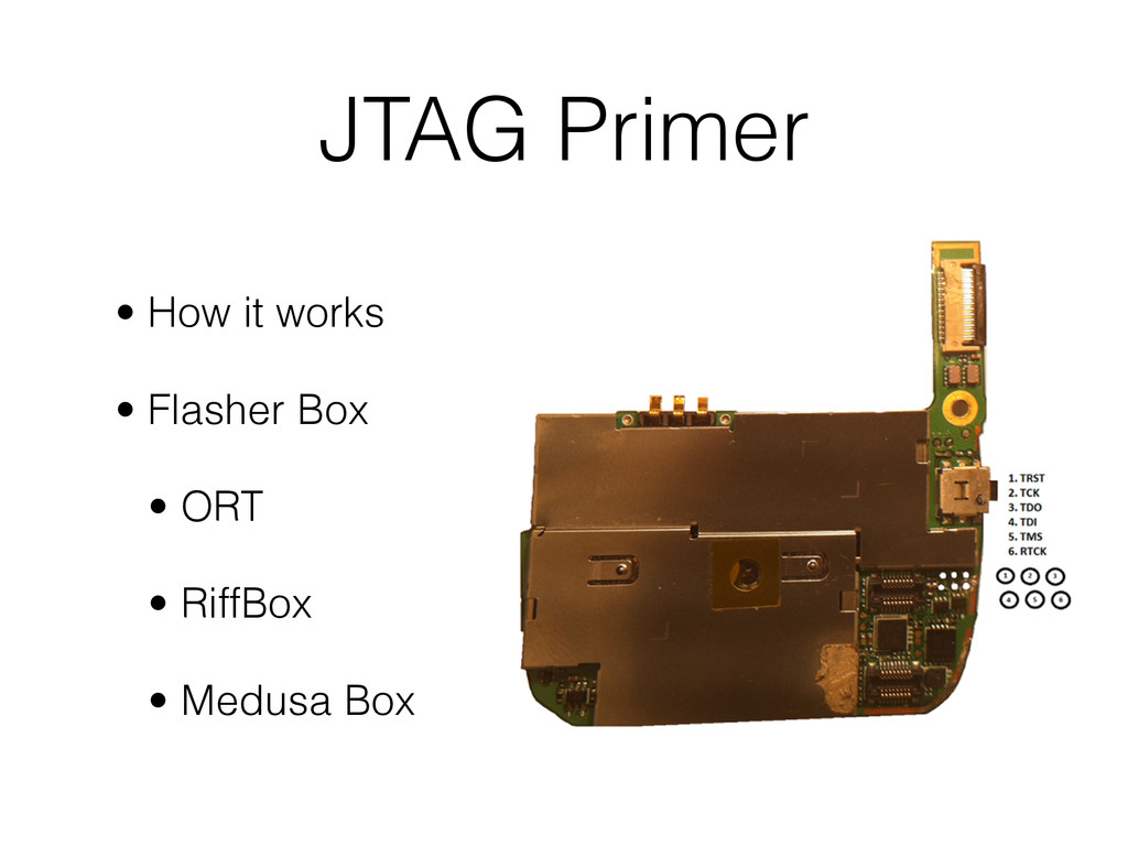 JTAG Primer • How it works