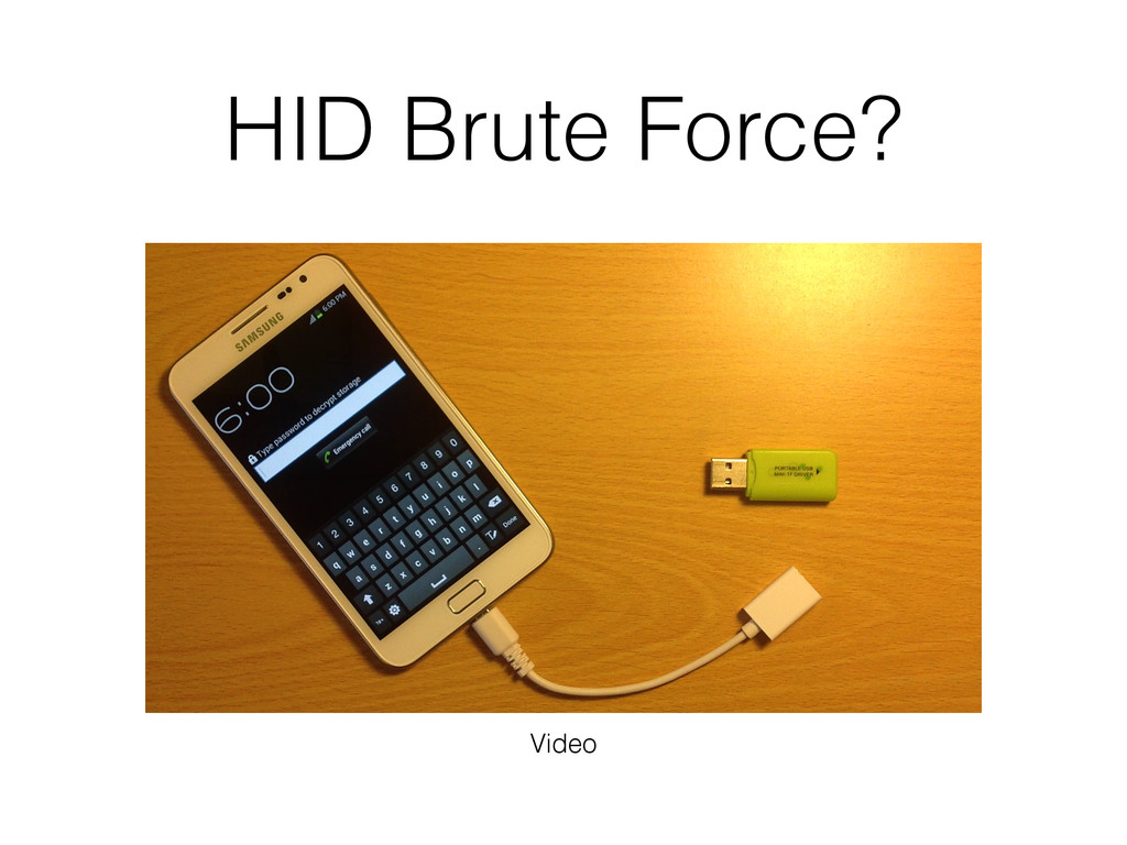HID Brute Force? Video
