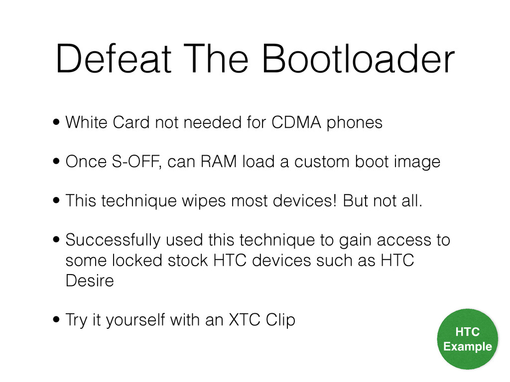 Defeat The Bootloader • White Card not needed f...