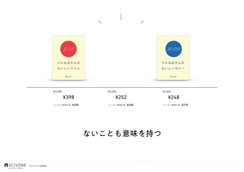 αΠϑΥϯ߹ಉձࣾ ͳ͍͜ͱҙຯΛͭ ¥398 ¥248 ¥252 ੫ࠐՁ֨ ੫ࠐՁ֨ ੫...