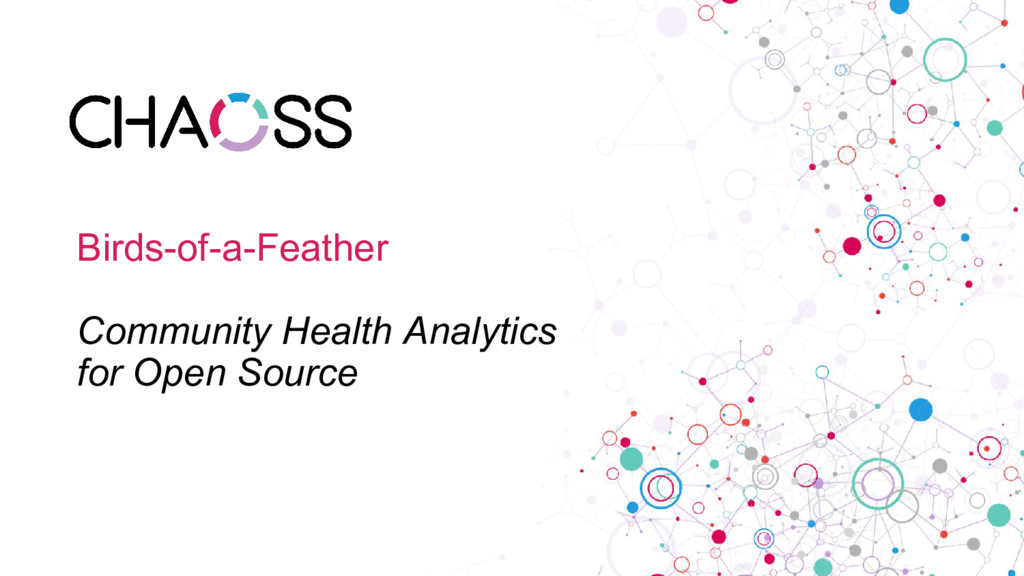 Birds-of-a-Feather Community Health Analytics f...