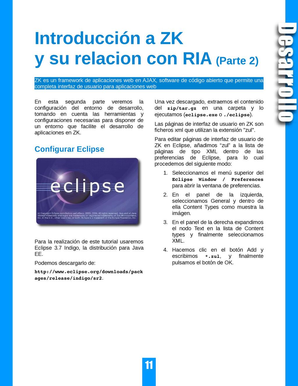 Introducción a ZK y su relacion con RIA (Parte ...
