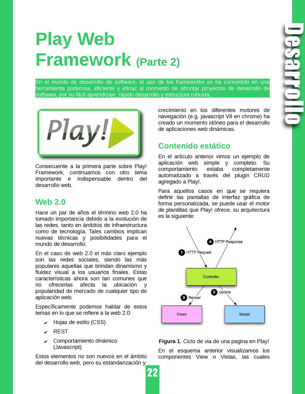 Play Web Framework (Parte 2) En el mundo de des...