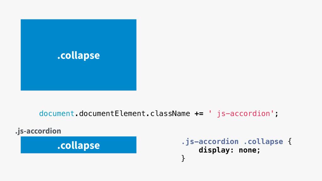 document.documentElement.className += ' js-acco...