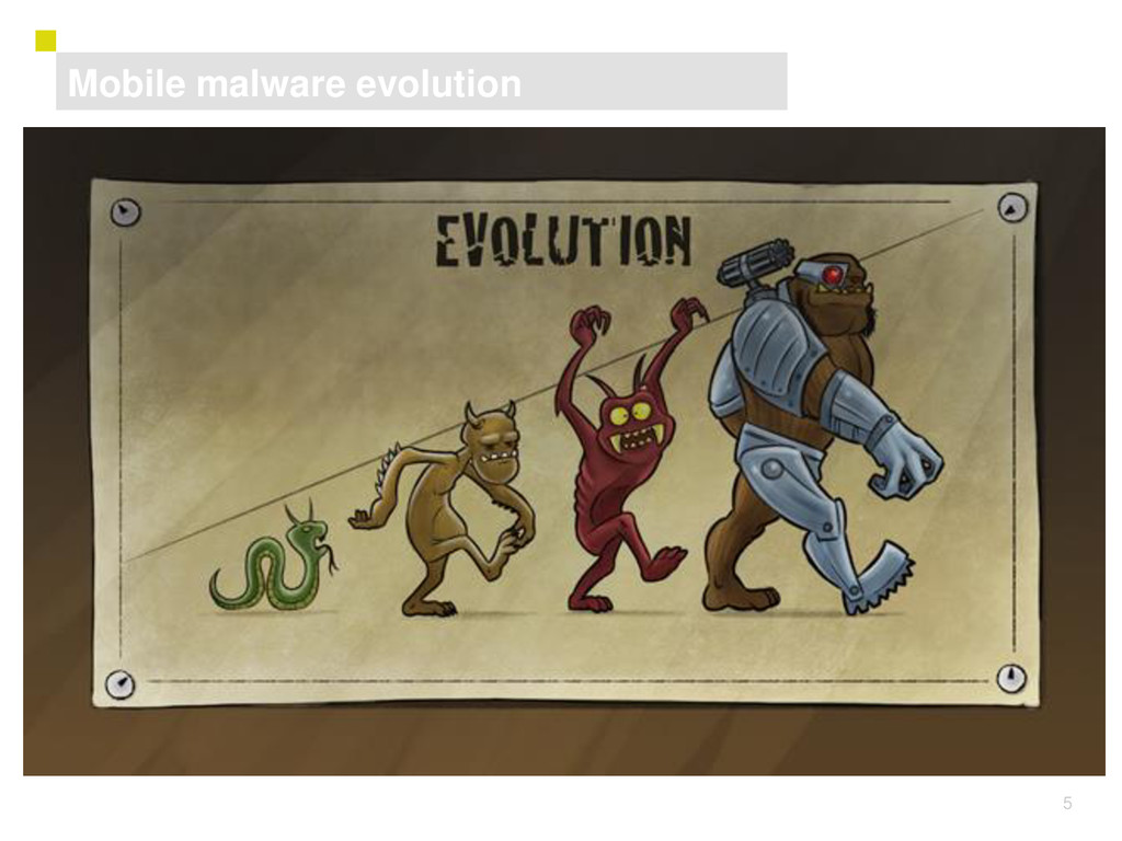5 ASD Mobile malware evolution