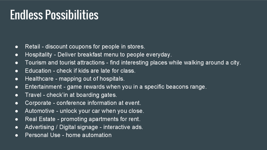 Endless Possibilities ● Retail - discount coupo...