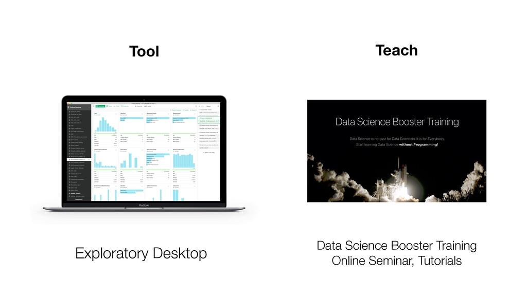 Exploratory Desktop Tool Teach Data Science Boo...