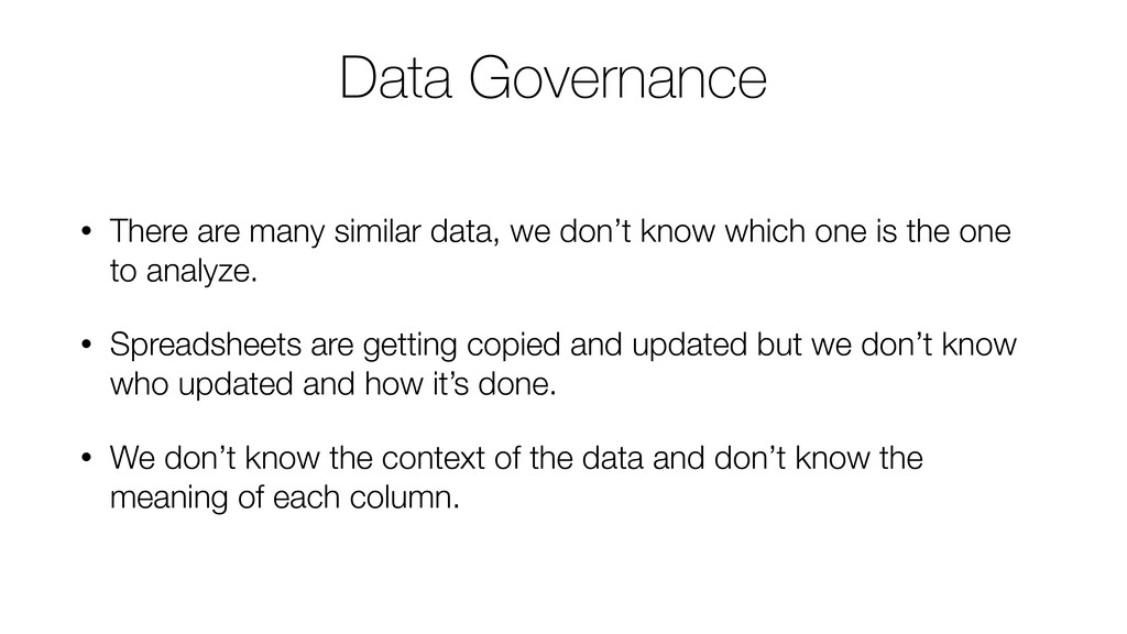 • There are many similar data, we don't know wh...