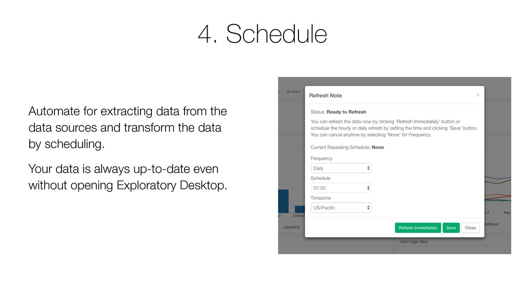 4. Schedule Automate for extracting data from t...