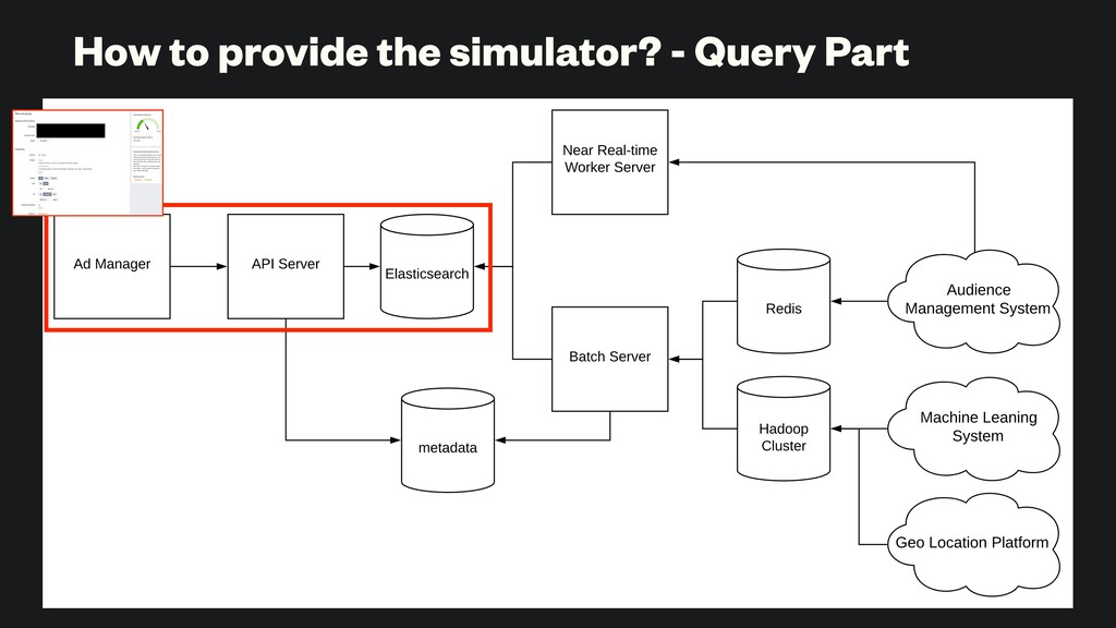 How to provide the simulator? - Query Part