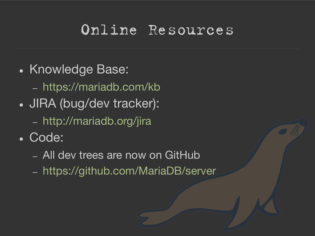 Online Resources ● Knowledge Base: – https://ma...