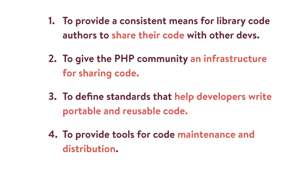 1. To provide a consistent means for library co...