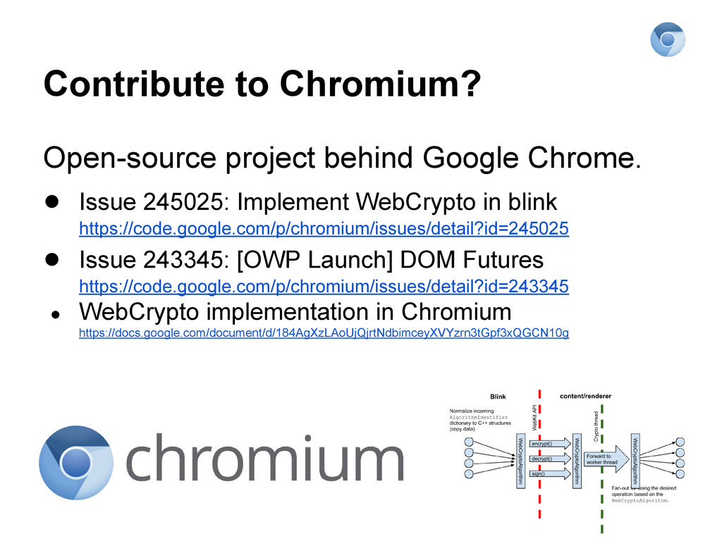 Contribute to Chromium? Open-source project beh...