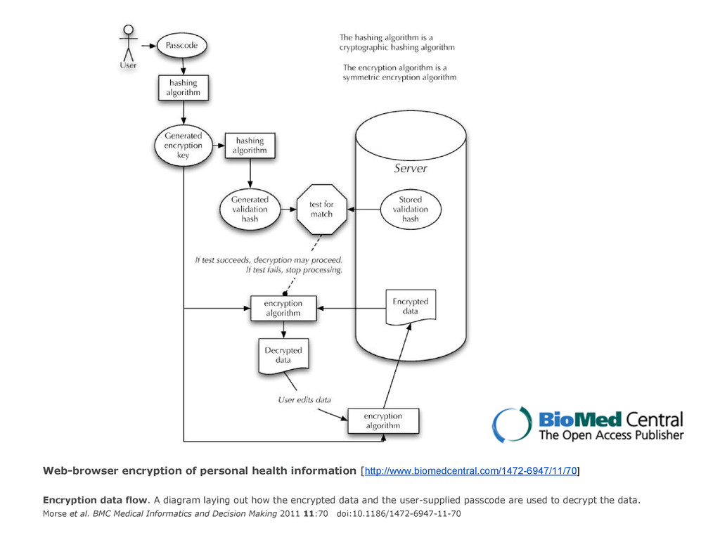 Web-browser encryption of personal health infor...