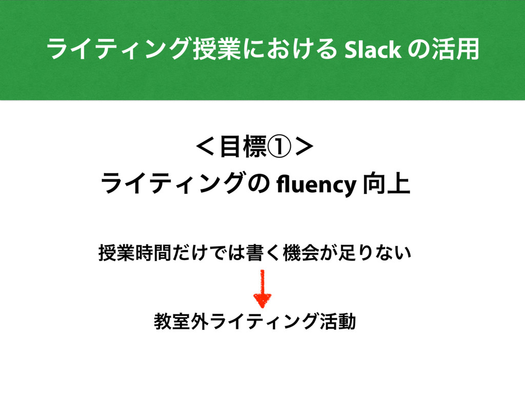 ʻඪᶃ' ϥΠςΟϯάͷ fluency ্ तۀ͚ؒͩͰॻ͘ػձ͕Γͳ͍ ڭࣨ֎ϥ...