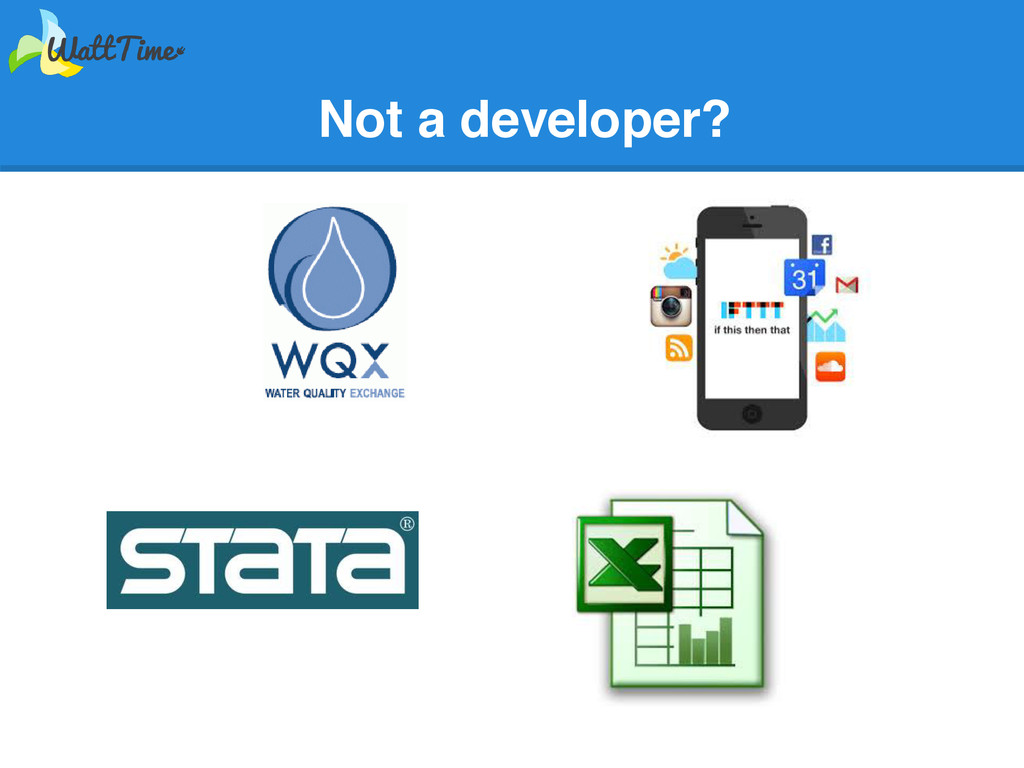 Not a developer?