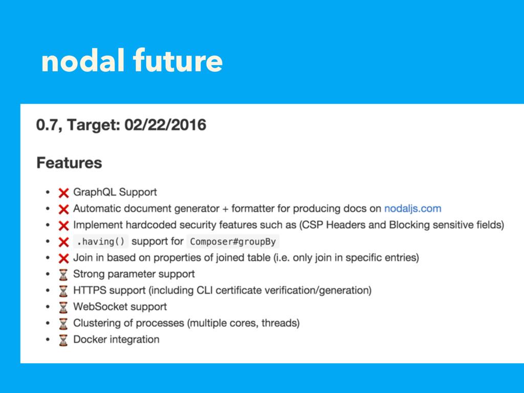 nodal future