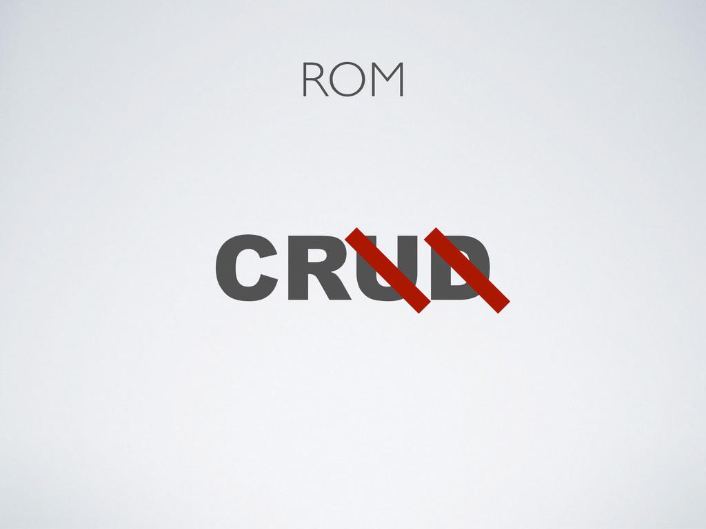 CRUD ROM