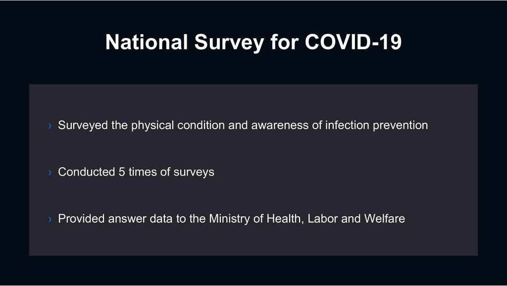 National Survey for COVID-19 › Conducted 5 time...