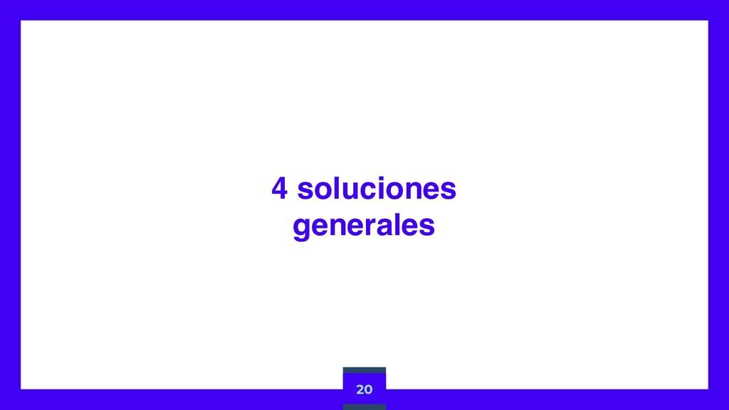 4 soluciones generales 20