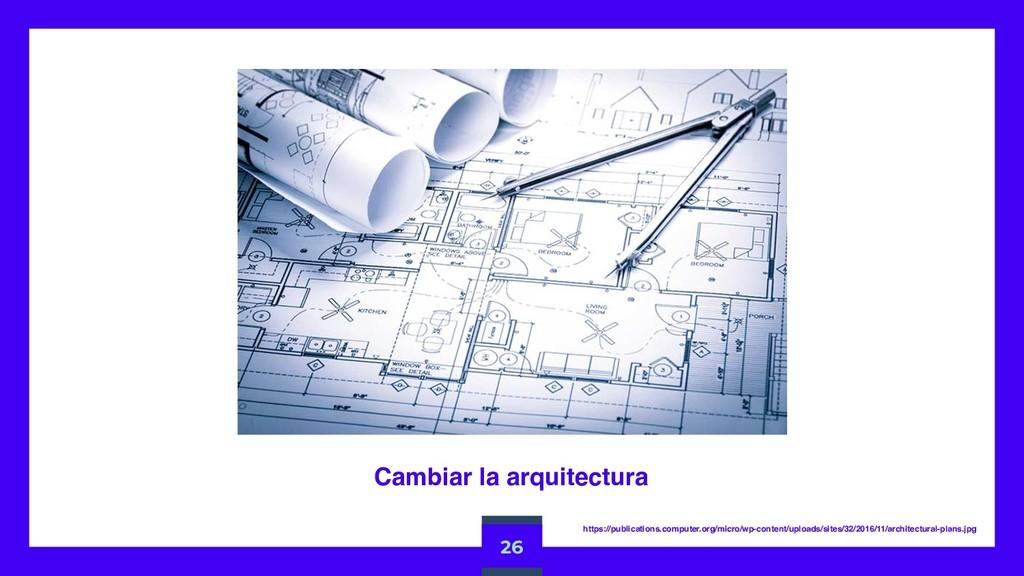 Cambiar la arquitectura 26 https://publications...