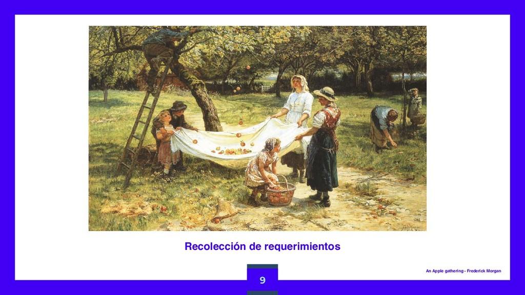 Recolección de requerimientos 9 An Apple gather...