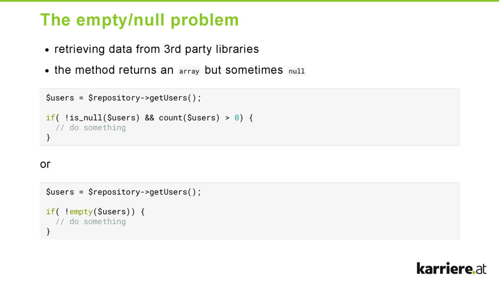 The empty/null problem retrieving data from 3rd...