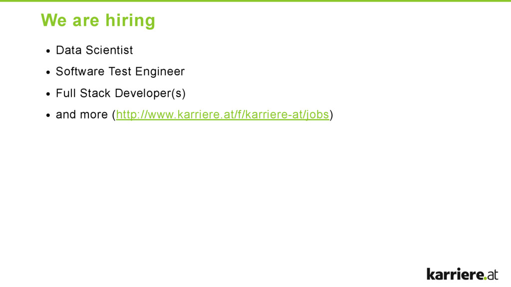 We are hiring Data Scientist Software Test Engi...