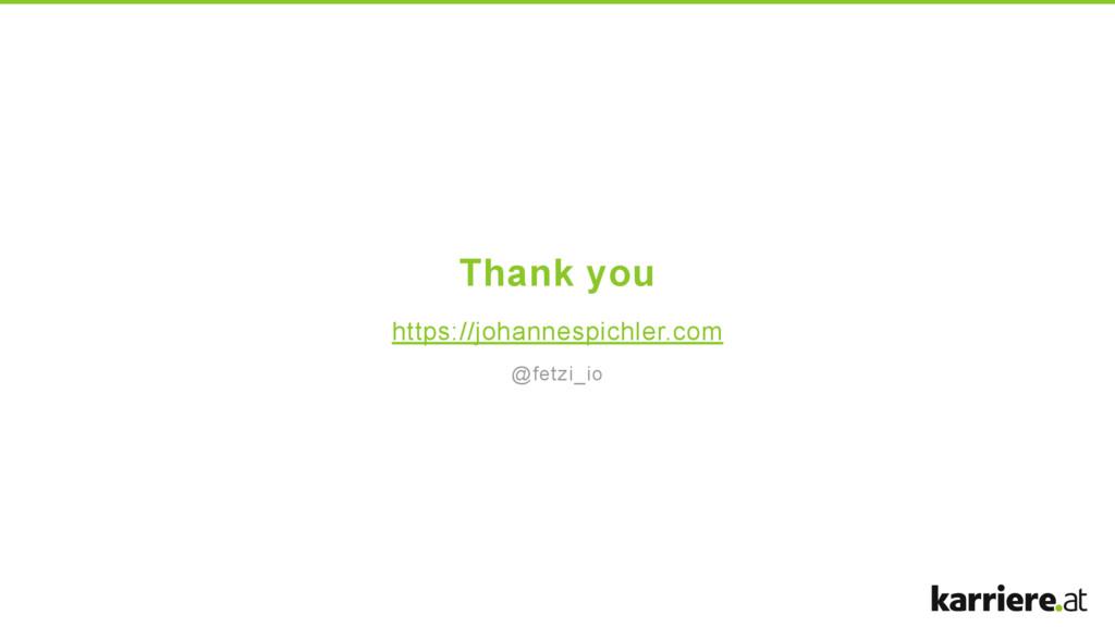 Thank you https://johannespichler.com @fetzi_io