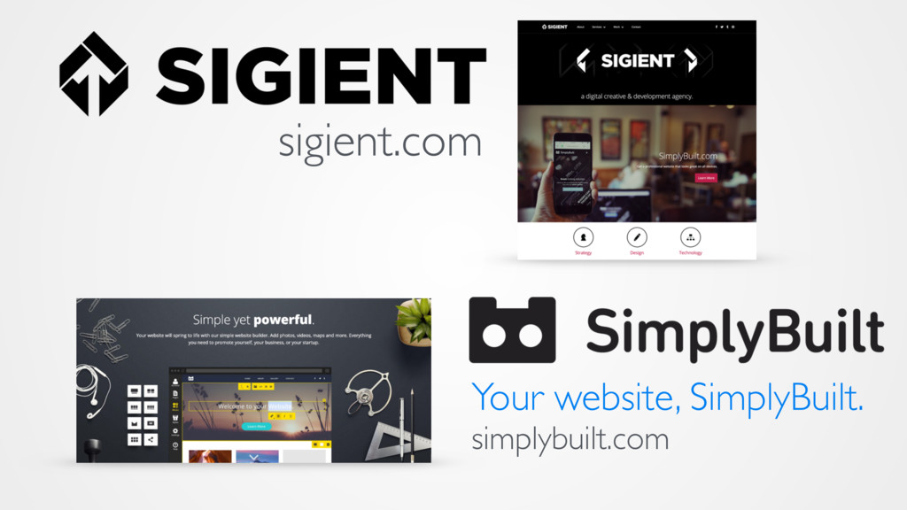 sigient.com Your website, SimplyBuilt. simplybu...