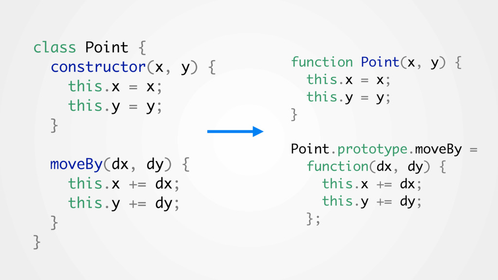 class Point { constructor(x, y) { this.x = x; t...
