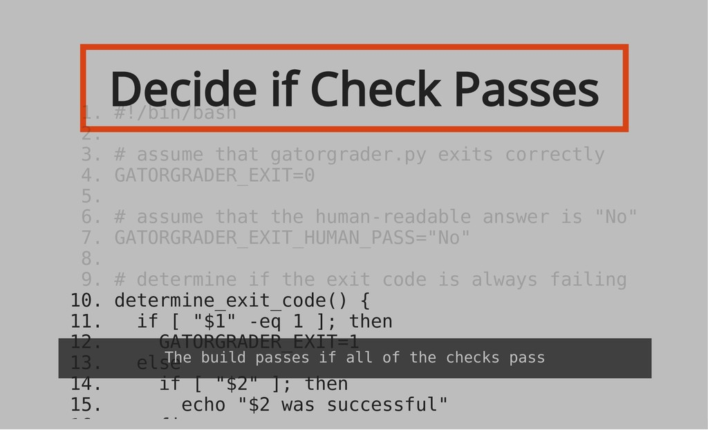 Decide if Check Passes 10. determine_exit_code(...