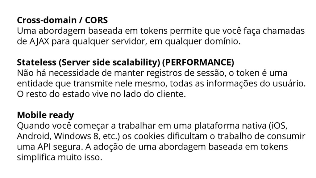 Cross-domain / CORS Uma abordagem baseada em to...