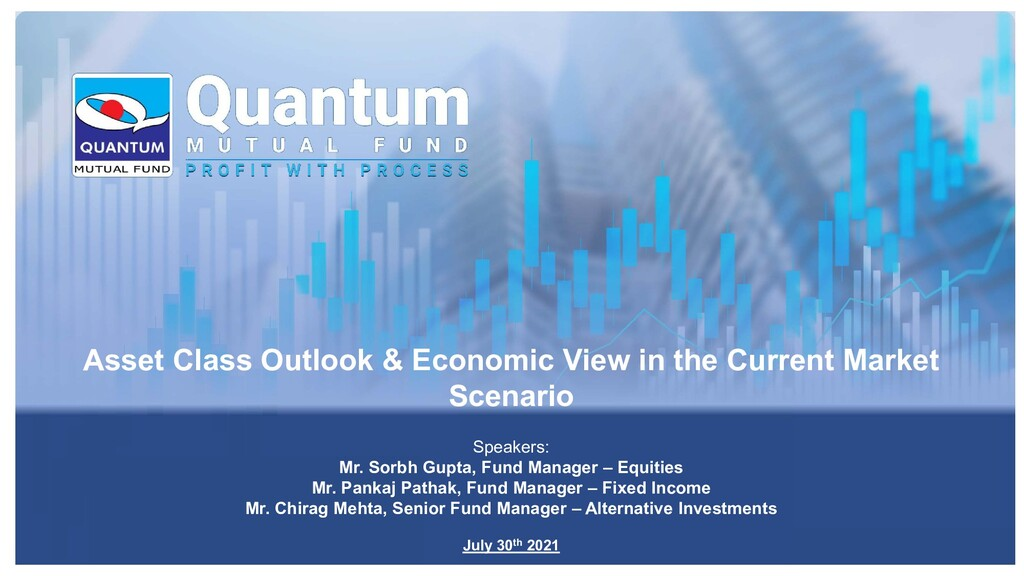Asset Class Outlook & Economic View in the Curr...