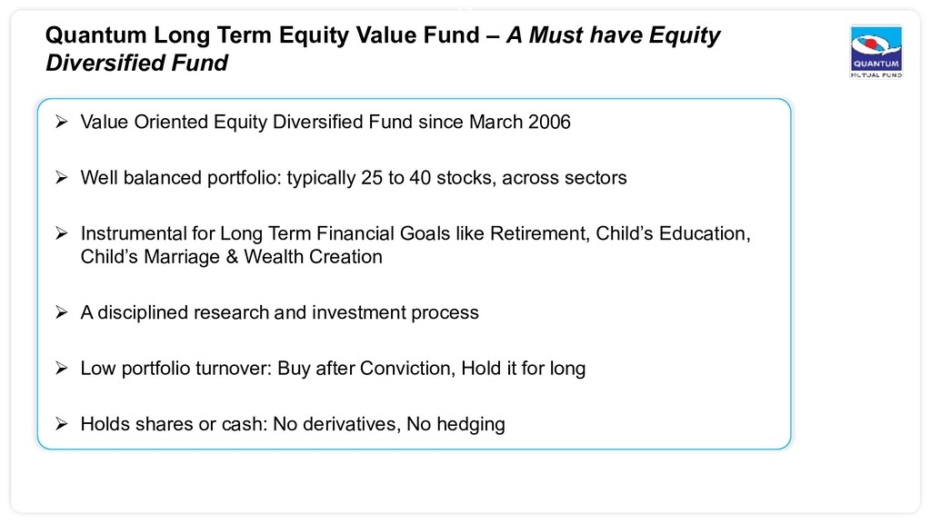 13  Value Oriented Equity Diversified Fund sin...