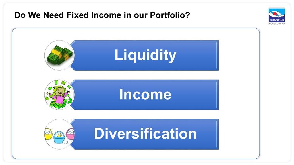 Do We Need Fixed Income in our Portfolio? Liqui...